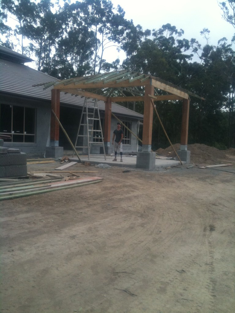 Free Standing Entry Pavilion - Willowvale